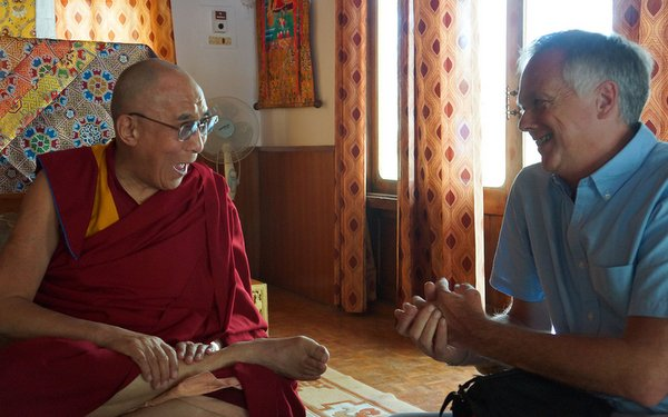 His Holiness the Dalai Lama discusses the mind with Anthony